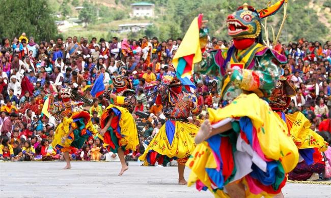India, Nepal & Bután con festival Thimpu Drupchen