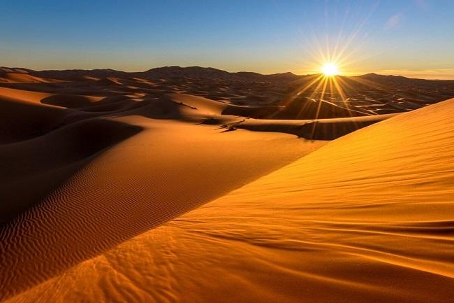 Adentrándose al Sahara
