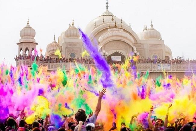 Grupal Acompañada - Fiesta Holi y Yoga en India en Febrero