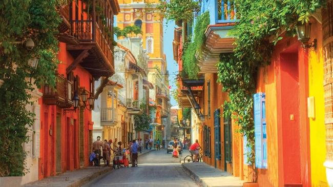 Cartagena de Indias , crucero por Antillas y Caribe sur